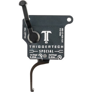 TriggerTech Special Remington 700 Clone Two-Stage Trigger 1-3.50 lbs PVD Straight Shoe Grey/Black
