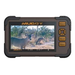 "Muddy CRV43 HD SD Card Viewer 4.3"" LCD Screen 1080P AA Batteries Polymer Brown"