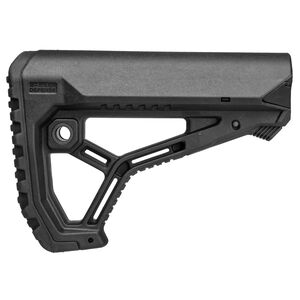 FAB Defense AR15/M4 Buttstock for Mil-Spec and Commercial Tubes Polymer Black