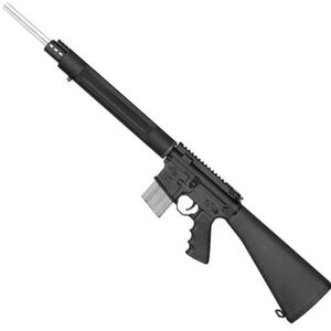 "Rock River Arms AR-15 Predator Pursuit Semi Auto Rifle .223 Rem/5.56 NATO 20"" Stainless Heavy Match Barrel 20 Rounds Wylde Chamber Fixed Stock Flat Top Upper Black Finish AR1530"