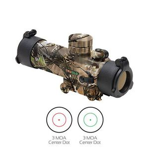 TRUGLO Gobble Stopper 30mm Red Dot Sight Dual Color Illuminated Camo