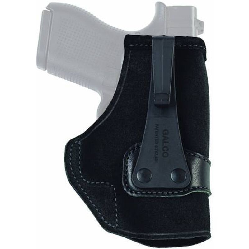 Galco Tuck-N-Go IWB Holster For GLOCK 26/27/33 Right Hand Leather Black TUC286B