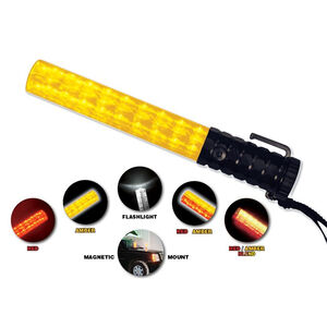 Emergency Medical International Flashback Five Light Baton Red/Amber 2020