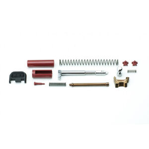 Polymer 80 PF-Series Slide Parts Kit GLOCK 9mm Gen1-4 Compatible Black/Red Finish