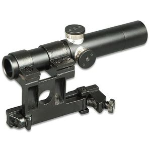 Firefield PU Mosin-Nagant/SVT-40 Rifle Scope 3.5x 3 Post Reticle Black FF13024
