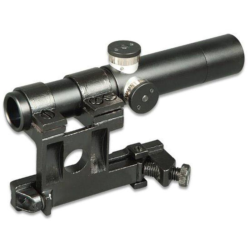 Firefield PU Mosin-Nagant/SVT-40 Rifle Scope 3 5x 3 Post Reticle Black  FF13024