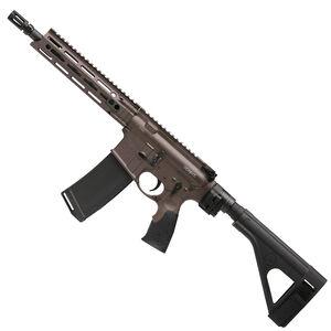 "Daniel Defense M4 V7 P AR-15 5.56 NATO Semi Auto Pistol 10.3"" Barrel 32 Round Magazine DD MFR M-LOK Hand Guard SB-Tactical SOB Pistol Stabilizing Brace FDE/Black Finish"