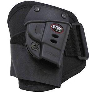 Fobus Ankle S&W Bodyguard .380 Holster Right Hand Polymer/Nylon Black SWBGA