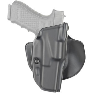 Safariland 6378 ALS Paddle/Belt Holster For Glock 17/22 Right Hand STX Tactical Finish Black