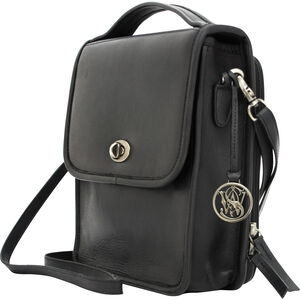 Cameleon Smith & Wesson Vintage Crossbody Concealed Carry Purse Black