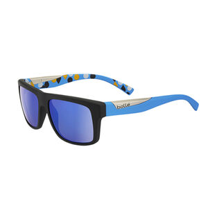 Bolle Clint Sunglasses Matte Black / Blue Frames Blue Lenses 11921