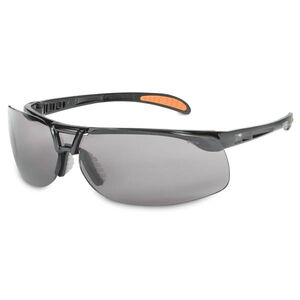Uvex Protege Safety Glasses Gray Anti Fog Lens Black Frame