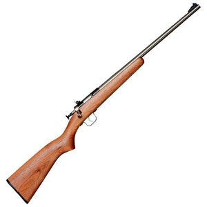 "Keystone Arms Crickett Gen 2 Bolt Action Rifle 22 LR 16.5"" Barrel 1 Round Walnut Stock Blued"