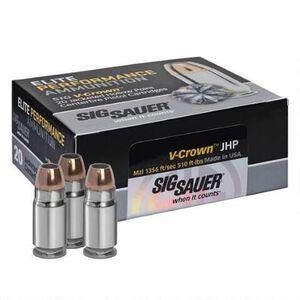 SIG Sauer .44 Special Ammunition 20 Rounds V-Crown JHP 200 Grains E44SP1-20