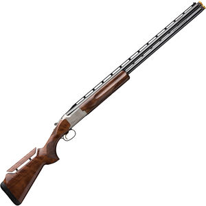 """Browning Citori CXT White 12 Gauge O/U Break Action Shotgun 30"""" Vent Rib Barrels 3"""" Chamber 2 Rounds Walnut Stock with Adjustable Comb Silver Receiver with Blued Barrel Finish"""