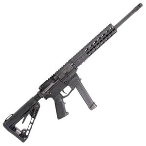 "ATI Mil-Sport AR-15 9mm Luger Semi-Auto Rifle 16"" Barrel 31 Rounds GLOCK Magazine Compatible KeyMod Handguard Black"