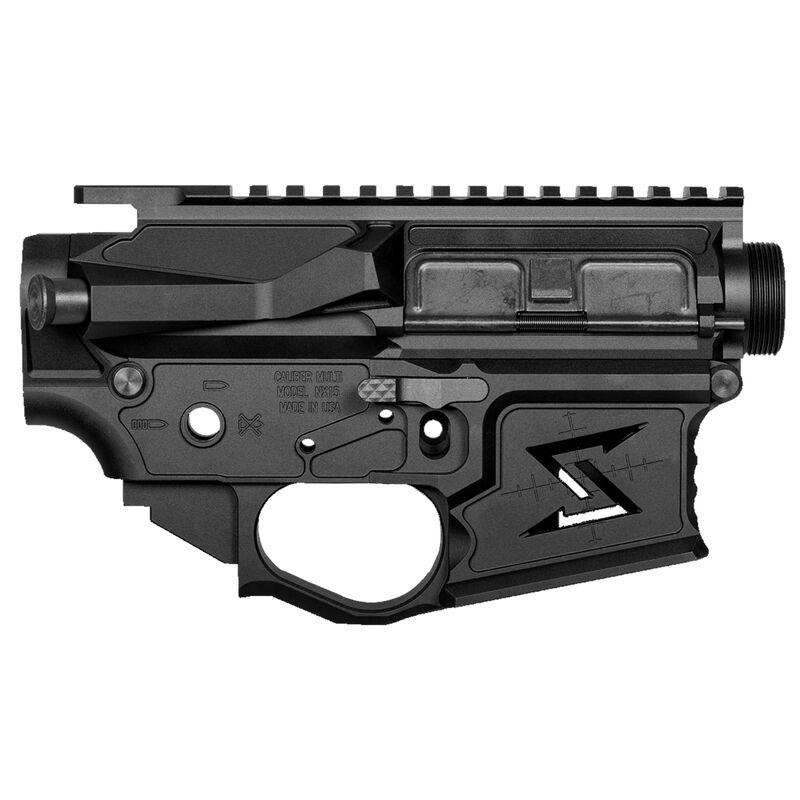 Seekins Precision NX15 Skeletonized AR-15 Receiver Set Mil-Spec 7075-T6  Billet Aluminum Anodized Finish Black