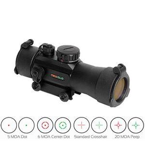 TRUGLO Xtreme 2x42 Dual Illuminated 5 MOA Multi Dot Sight Matte Black TG8030MB2