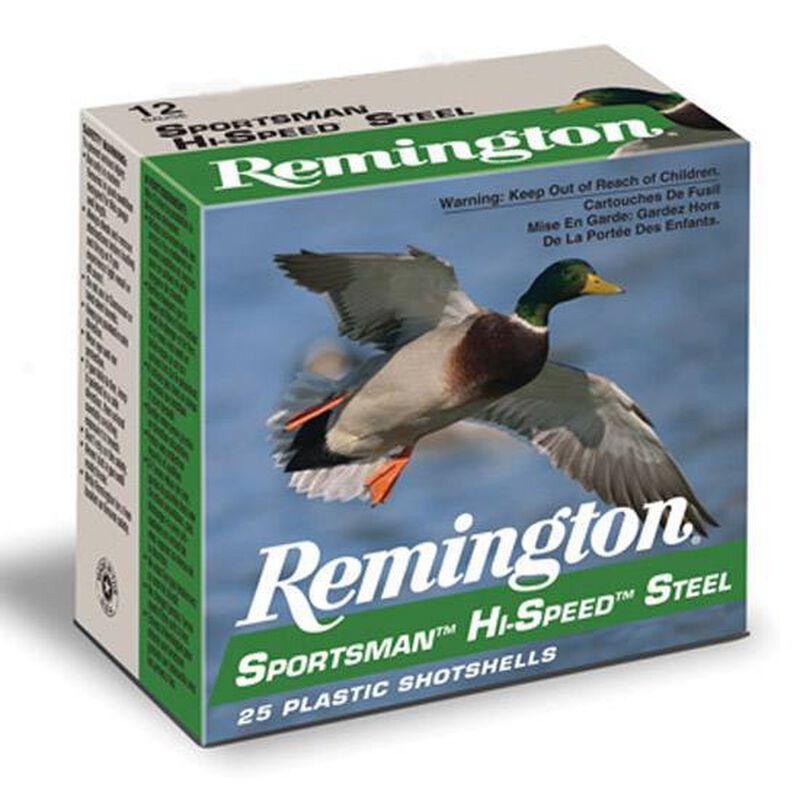 "Remington 12 Gauge 3"" BB Steel 1.25 oz 25 Round Box"