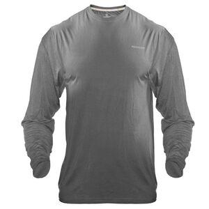 Medalist Men's Tactical Shield Long Sleeve Crew Shirt Polyester/Spandex Medium Charcoal M4625CHM