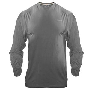 Medalist Men's Tactical Shield Long Sleeve Crew Shirt Polyester/Spandex Small Charcoal M4625CHS