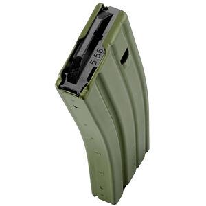 C Products Defense AR-15 5.56 NATO Magazine 30 Rounds Aluminum Construction OD Green Finish