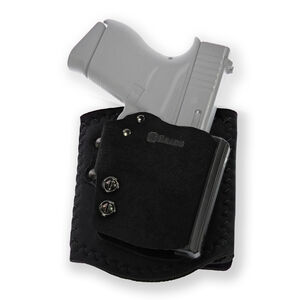 Galco Ankle Guard GLOCK 43/43X Ankle Holster Right Hand Black