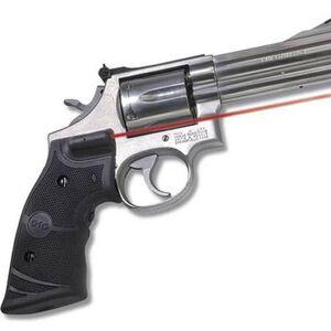 Crimson Trace Lasergrip S&W K, L Frame Square Butt Revolver Rubber Black LG-307