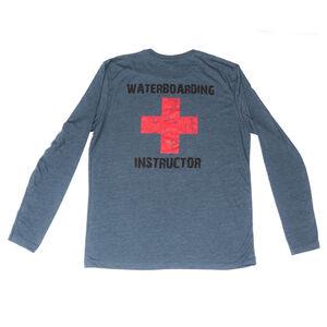 Spike's Tactical Waterboarding instructor Men's Long Sleeve T-Shirt XL Indigo