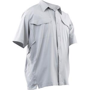 Tru-Spec 24-7 Series Cool Camp Shirt Polyester Spandex Small Arctic Grey
