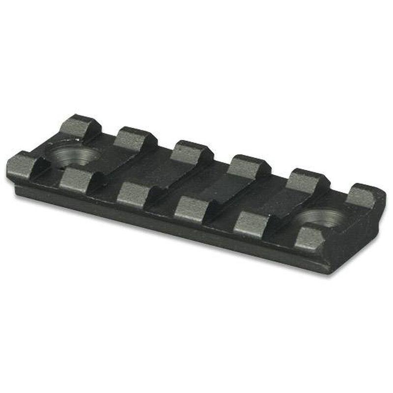 "Lion Gears AR-15 Tactical Picatinny Rail 5 Slots 2.16"" Long Aluminum Black BM05S"