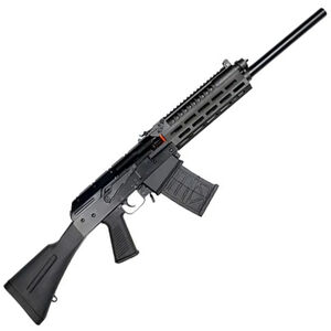 "JTS Group M12AK-T1 12 Gauge Semi Automatic Shotgun 18.7"" Barrel 3' Chamber 5 Round Magazine Aluminum M-LOK Forend Polymer Furniture Matte Black"