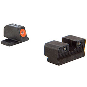 Trijicon HD XR Night Sight Set Orange Front Outline for Sig Sauer .40S&W, .45ACP