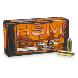 HSM .44 Magnum Ammunition 50 Rounds Hornady XTP/HP 300 Grains HSM-44M-8-N