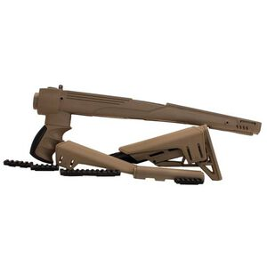 ATI SKS Strikeforce Six Position Adjustable Side Folding TactLite Stock with Scorpion Recoil System Polymer FDE B.2.20.1232