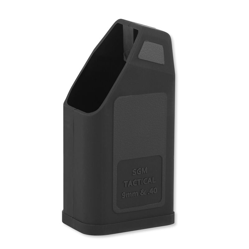 SGM Tactical Speed Loader For GLOCK 9mm Luger/.357 Sig/.380 ACP/.45 ACP Polymer Black SGMTGSL940