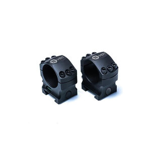 MDT Elite Scope Rings 34mm 1.00in Medium Aluminum Black