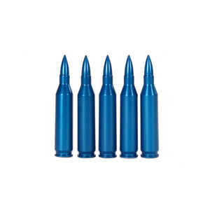 A-Zoom .243 Winchester Snap Caps Aluminum Blue 5 Pack 12323