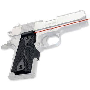 Crimson Trace LG-404 LaserGrips Red Laser Fits Compact 1911 Models Matte Black