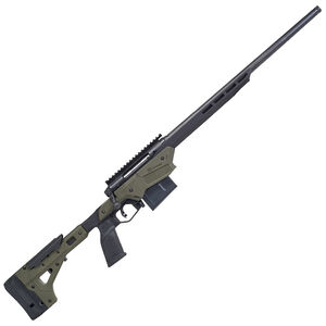 "Savage Firearms Axis II Precision .243 Winchester Bolt Action Rifle 22"" Barrel 10 Rounds Magazine MDT Chassis OD Green/Black"