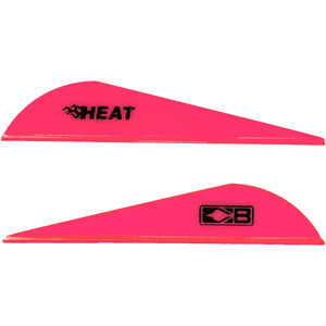 Bohning Blazer Heat Hunting Vanes 6 Grains Synthetic Hot Pink 36 Pack