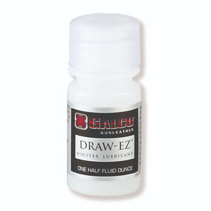 Galco Draw-EZ Leather Holster Lubricant 1 oz Bottle 25 Pack