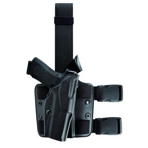 Safariland 6354 GLOCK 17/22 ALS Tactical Thigh Holster Right Hand Black