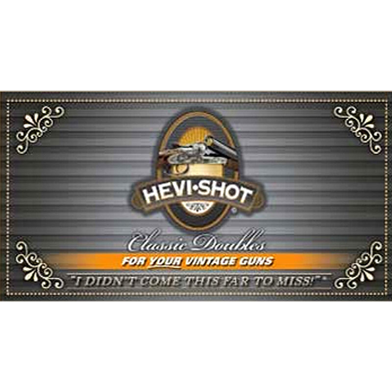 "Hevi-Shot Classic Doubles 12 Gauge Ammunition 10 Rounds 2-3/4"" #7.5 Lead Free Shot 1-1/8 Ounce 1150 fps"