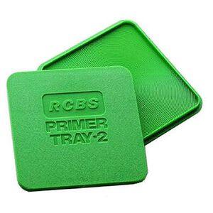 RCBS Primer Tray-2 Polymer Green 09480