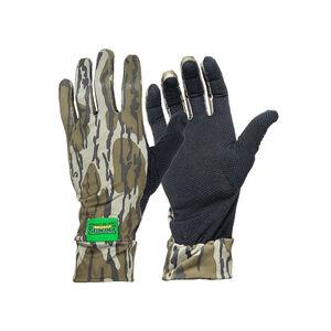 Primos Mossy Oak Bottomland Stretch-Fit Camo Gloves