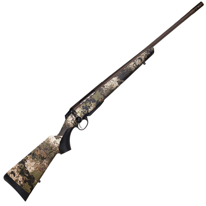 """Tikka T3x Lite Veil Wideland .270 Winchester Bolt Action Rifle 22.4"""" Barrel 3 Rounds Synthetic Stock Cerakote/Camouflage Finish"""