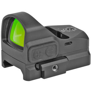 TRUGLO Tru-Tec Red Dot Sight 3 MOA Dot CR2032 Battery Offset Picatinny Mount Black Finish
