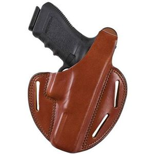 Bianchi #7 Shadow II Belt Holster Walther PPK/PPKs Size 5 Right Hand Leather Tan