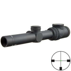 Trijicon AccuPoint 1-6x24 Riflescope German #4 Crosshair with Green Dot, 30mm Tube